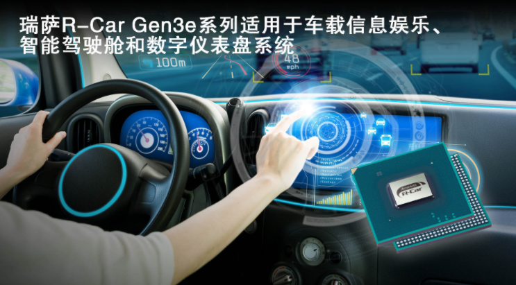 Renesas Electronics launches R-Car Gen3e for in-vehicle infotainment, smart cockpit, and digital instrument panel systems, with a 20% increase in CPU speed